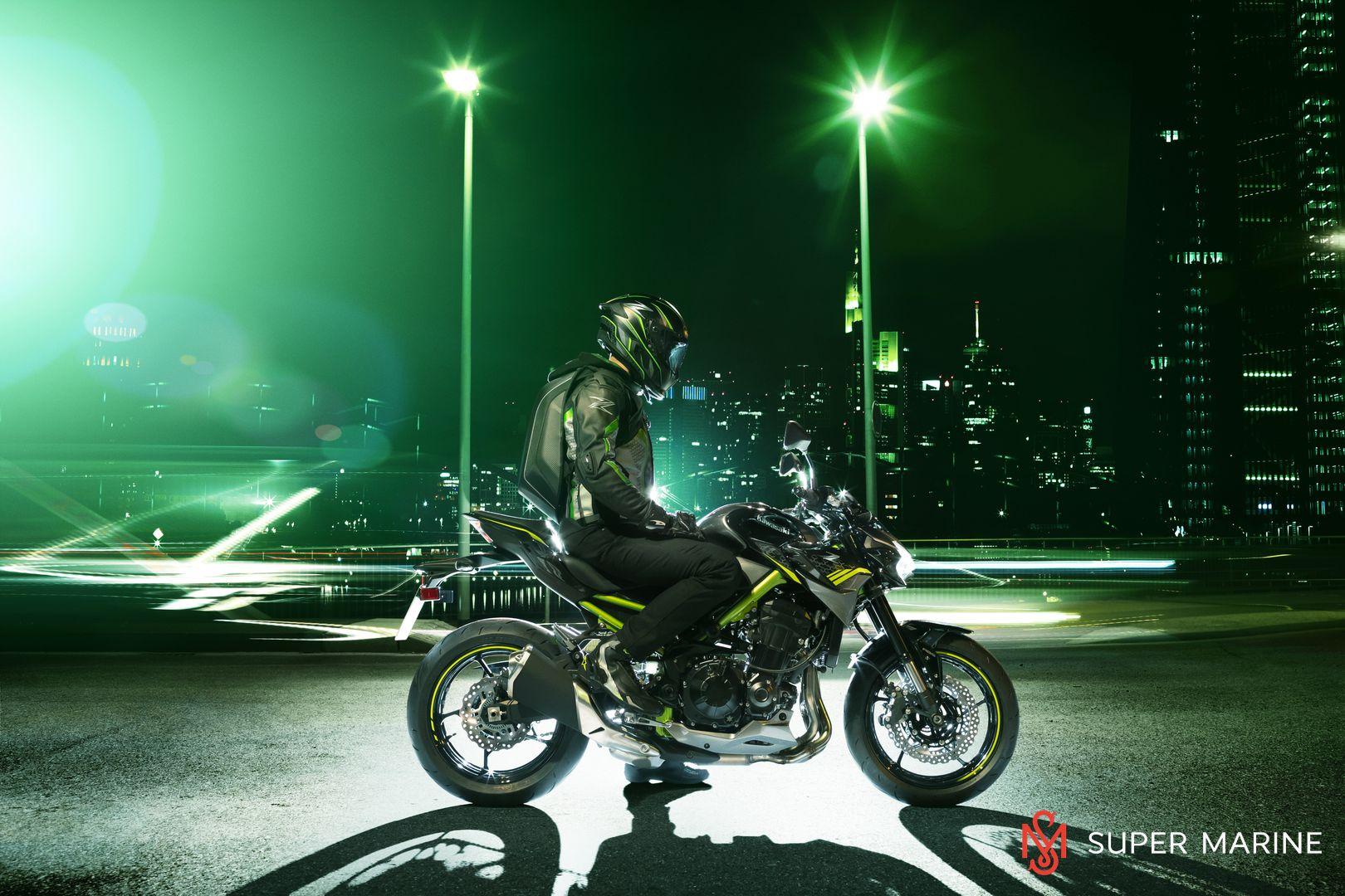 Мотоцикл Kawasaki Z900 ABS Чёрный 2020 - 15