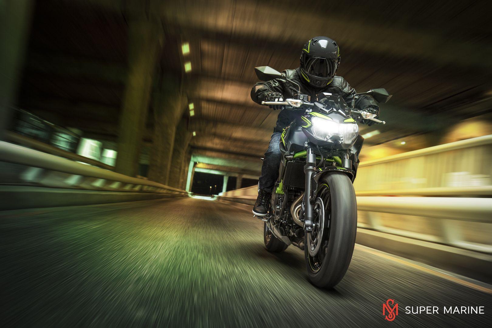 Мотоцикл Kawasaki Z650 ABS Белый 2020 - 27