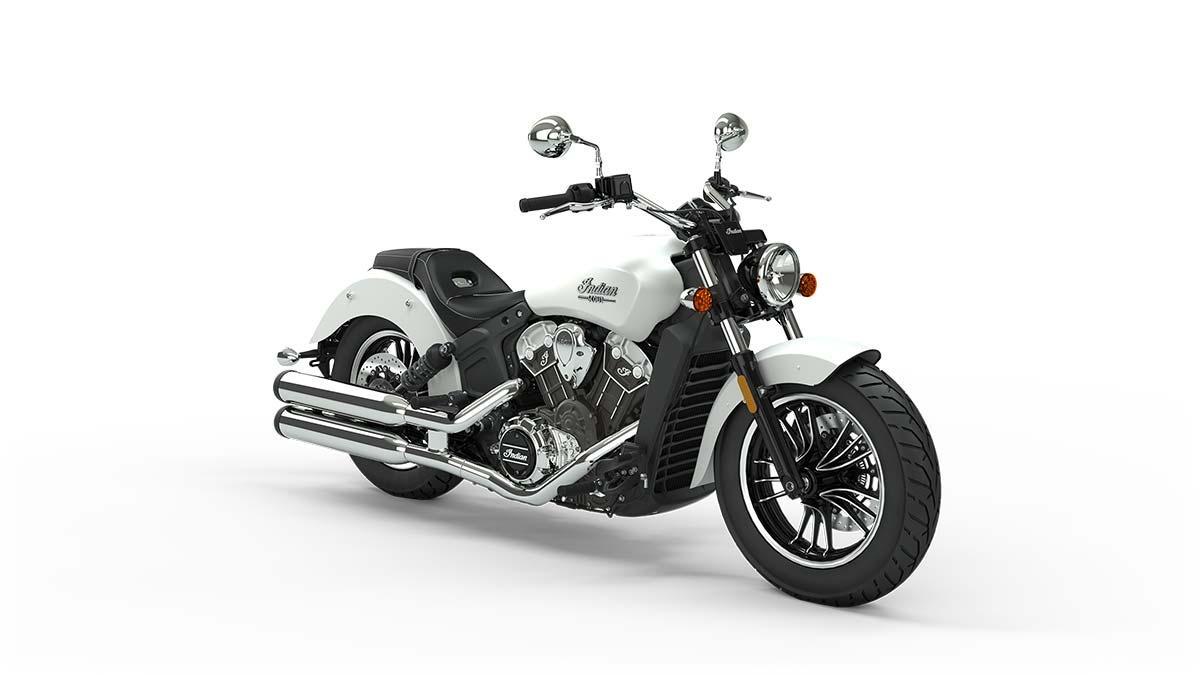 Мотоцикл Indian Scout White Smoke 2020 - 1