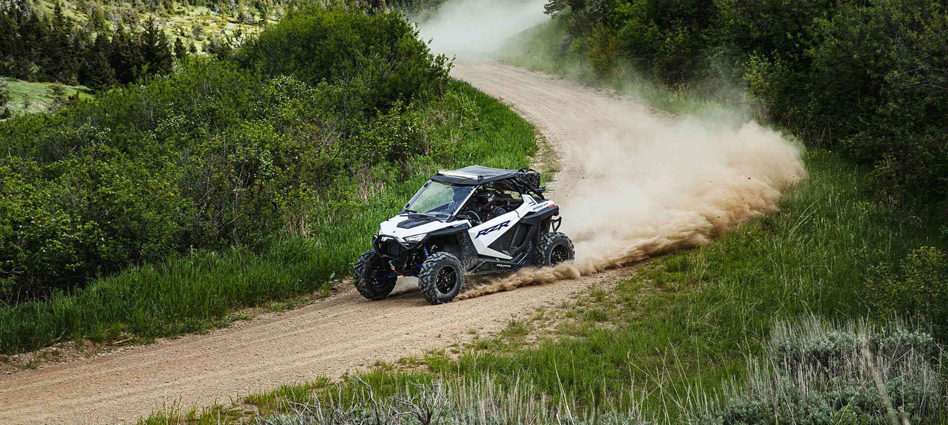 Мотовездеход Polaris RZR PRO XP® Ultimate White Lightning 2020 - 14