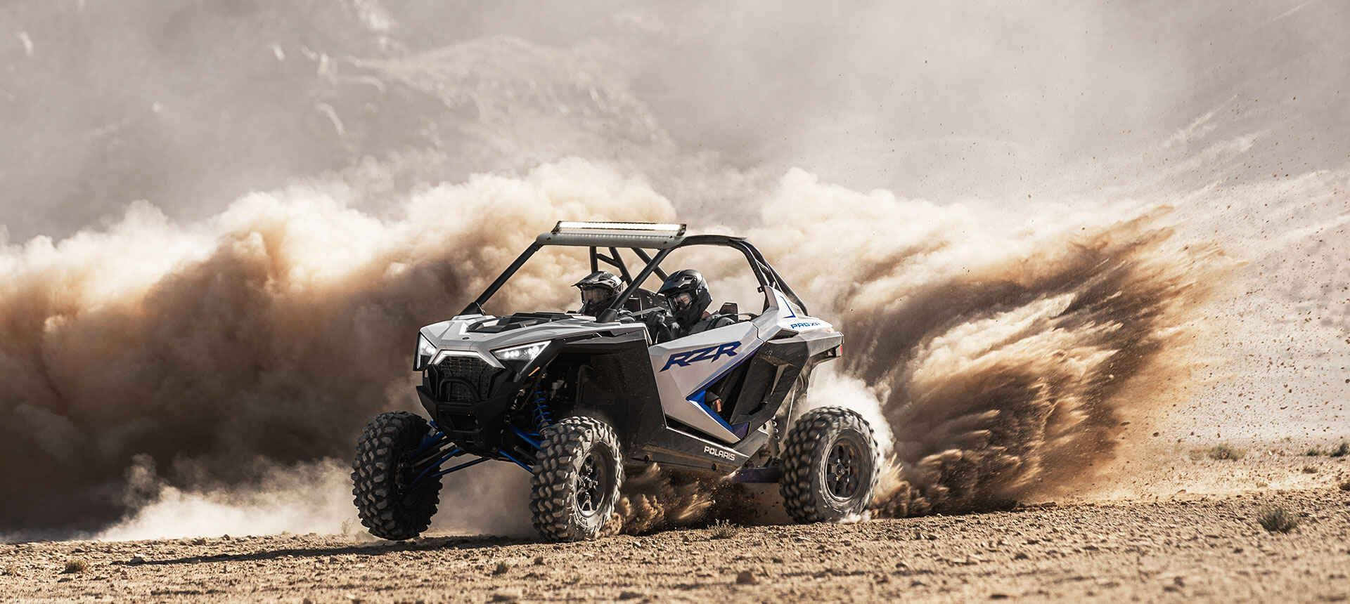 Мотовездеход Polaris RZR PRO XP® Ultimate White Lightning 2020 - 7