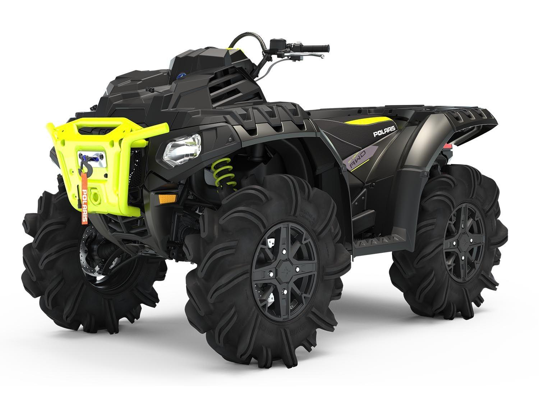 Квадроцикл Polaris Sportsman® High Lifter Edition XP 1000 Onyx Black 2020 - 1
