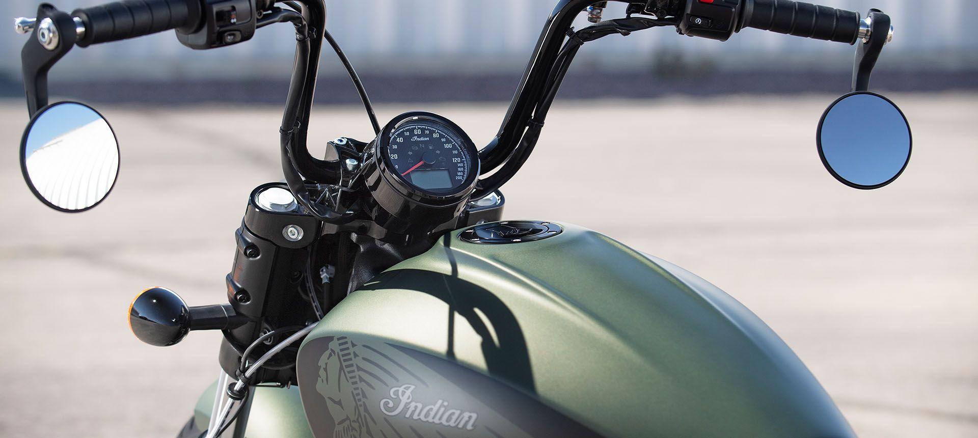 Мотоцикл Indian Scout Bobber Twenty Sagebrush Smoke 2020 - 4