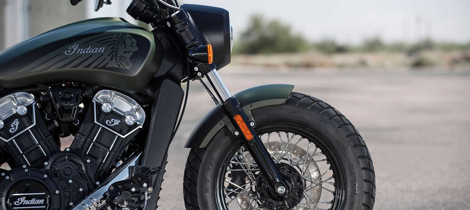 Мотоцикл Indian Scout Bobber Twenty Sagebrush Smoke 2020 - 5