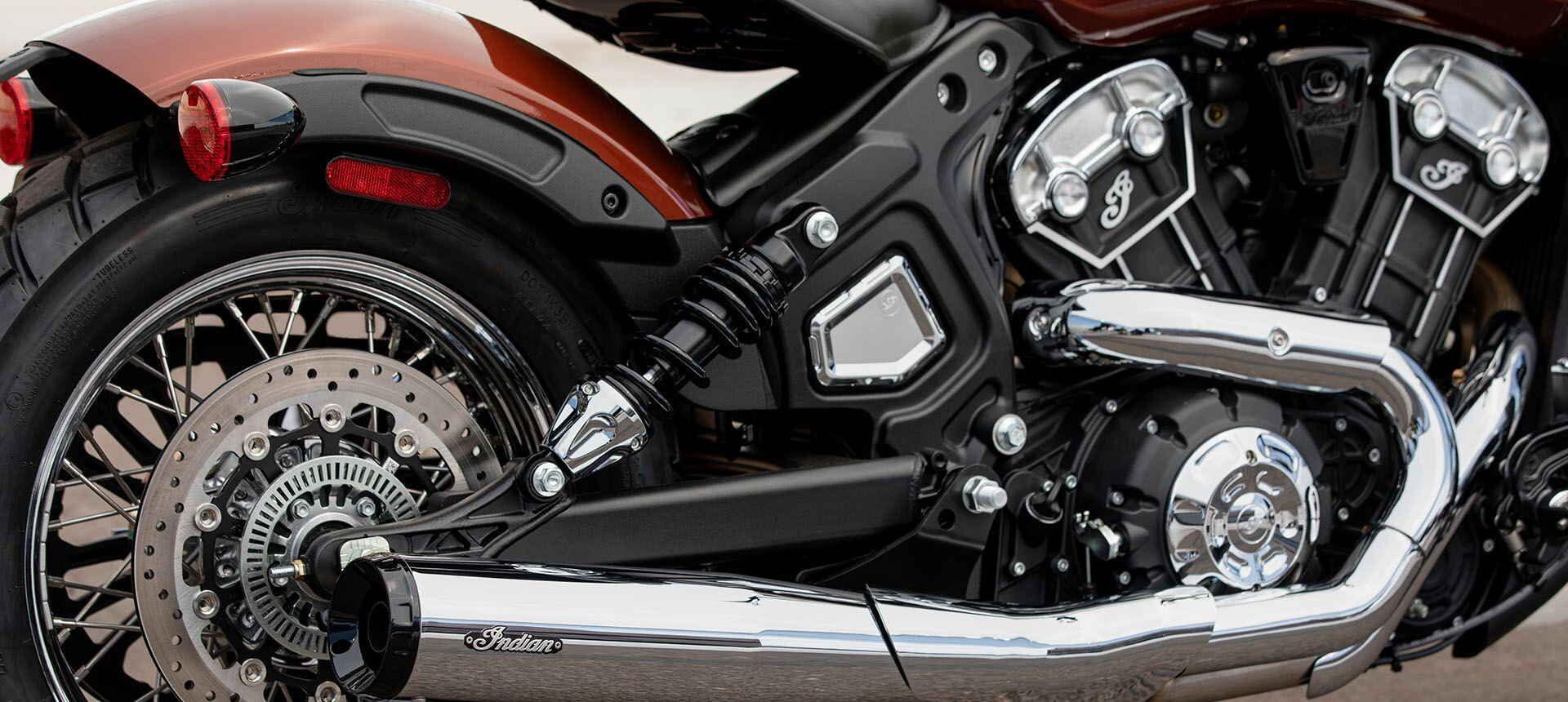 Мотоцикл Indian Scout Bobber Twenty Sagebrush Smoke 2020 - 7