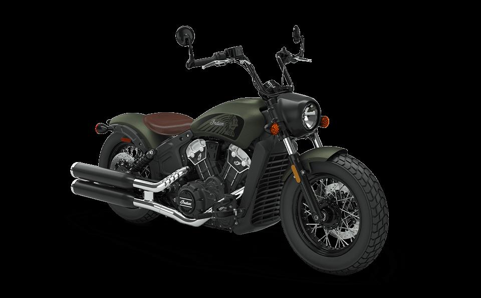 Мотоцикл Indian Scout Bobber Twenty Sagebrush Smoke 2020 - 1