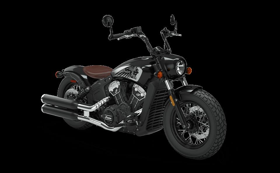 Мотоцикл Indian Scout Bobber Twenty Thunder Black 2020 - 1