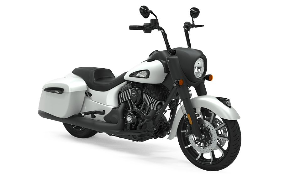 Мотоцикл Indian Springfield Dark Horse White Smoke 2020 - 1